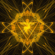 Metabolism Digital Art - Solar Plexus Chakra by Gloria Gypsy