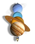 Neptune Prints - Solar System Planets Print by Victor Habbick Visions