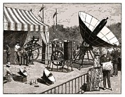 Soleil Prints - Solar Water Heater, 19th Century Artwork Print by Detlev Van Ravenswaay