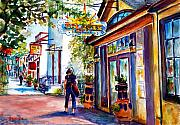 Philadelphia Scene Paintings - Solaris Grille by Joyce A Guariglia