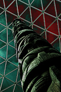 Solarised Totem Pole Print by Urban Shooters
