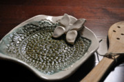 Butterfly Ceramics - SOLD Butterfly Spoon Rest SOLD by Amanda  Sanford