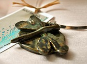Natural Art Ceramics - SOLD Dragonfly Necklace by Amanda  Sanford