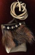 Totems Jewelry - SOLD OOAK Fox Medicine bag by White Buffalo