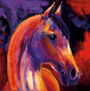 Contemporary Equine Posters - Soldier Poster by Bob Coonts