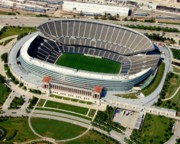 Bill Lang Prints - Soldier Field Print by Bill Lang