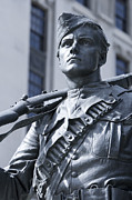 Statue Portrait Photo Prints - Soldier Print by Igor Kislev