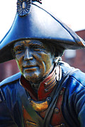 Bravery Prints - Soldier Sculpture in Paducah KY Print by Susanne Van Hulst