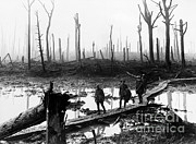 Ypres Framed Prints - Soldiers In Ypres Framed Print by Photo Researchers