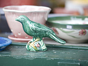 Bird Ceramics Prints - Sole Of A Single Poet Print by Brian Hayworth