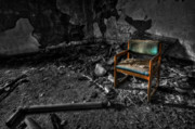 Chair Photo Prints - Sole Survivor Print by Evelina Kremsdorf