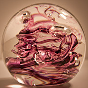 Glass Art - Solid Glass Sculpture R6 by David Patterson