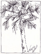 Palm Trees Fronds Originals - Solid Palm by Michele Hollister - for Nancy Asbell