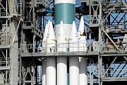 Solid Rocket Boosters Are Attached Print by Stocktrek Images