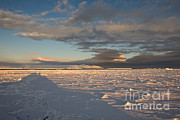 Erebus Photos - Solid Sea Ice by Greg Dimijian