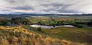 Prairie Photography Prints - Solider Mountain Ranch Print by Robert Bales
