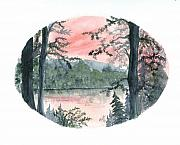 Northwoods Prints - Solitude Print by Denise   Hoff
