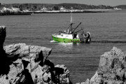 Trawler Metal Prints - Solitude Metal Print by Greg Fortier