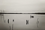 Manasquan Reservoir Prints - Solitude Print by Terry DeLuco