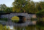Huisken Prints - Solivita Stone Bridge Print by Lyle  Huisken