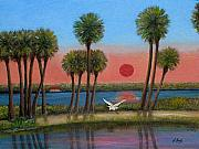 Florida Paintings - Solo by Gordon Beck