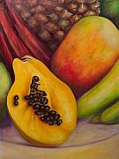 Food And Beverage Painting Originals - Solo by Shannon Grissom