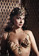 1950s Movies Prints - Solomon And Sheba, Gina Lollobrigida Print by Everett
