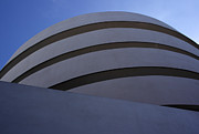 Museum Mile Prints - Solomon R. Guggenheim Museum Print by David Bearden