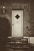 Entrance Door Photos - Some Diamonds Shine by Odd Jeppesen