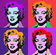 Marylin Framed Prints - Some Like It Cool Framed Print by Charles Stuart