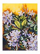 Plumeria Paintings - Some Like It Hot by Mike Hill