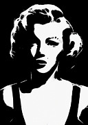 Marilyn Monroe Digital Art - Some like it white  by Stefan Kuhn