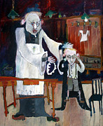   Of Pianos Paintings - Someones Taken My Cassock by Roger Phillpot
