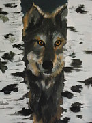 Diana Prickett Metal Prints - Someones Watching Metal Print by Diana Prickett