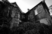 Haunted House Photos - Something in the window by David Lee Thompson
