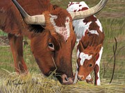 Texas Pastels Originals - Something New by Nichole Taylor