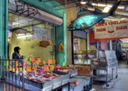 Italian Market Metal Prints - Somethings Fishy Metal Print by Lori Deiter