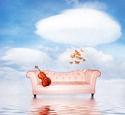Surrealism Glass Posters - Sometimes...All I need Poster by Photodream Art