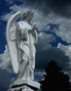 Angel Prints - Somewhere Between Heaven and Earth Print by Peter Piatt