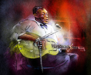 Guitarist Art - Son House by Miki De Goodaboom