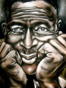 Son Pastels - Son House by Zach Zwagil