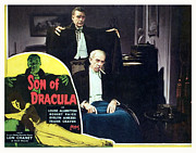 Lobbycard Prints - Son Of Dracula, Lon Chaney, Jr., Samuel Print by Everett