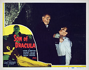 Lobbycard Framed Prints - Son Of Dracula, Robert Paige, Lon Framed Print by Everett