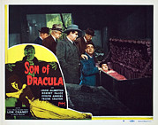 Lobbycard Framed Prints - Son Of Dracula, Samuel S. Hinds, Pat Framed Print by Everett