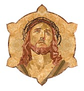 Savior Pyrography Framed Prints - Son of God Framed Print by Aydin Kalantarov