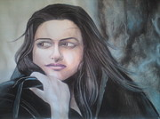 Serial Killer Drawings - Sonakshi Sinha by Sandeep Kumar Sahota
