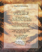 Prophetic Mixed Media - Songs of Deliverance  by Darla Sikes