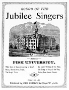 1800s Prints - Songs Of The Jubilee Singers From Fisk Print by Everett