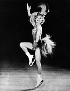 1950s Candids Photos - Sonja Henie Performing In Her Own Ice by Everett