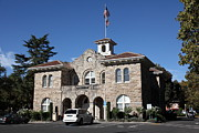 Sonoma City Hall - Downtown Sonoma California - 5d19266 Print by Wingsdomain Art and Photography